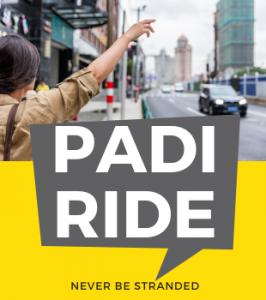 Padi Ride Sidebar - AD Haycess Website - Never Be Stranded Again